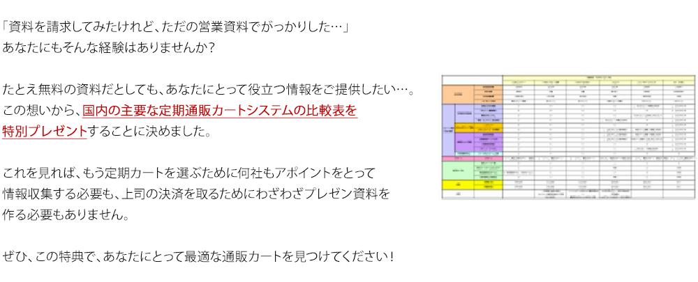 カートシステム 比較